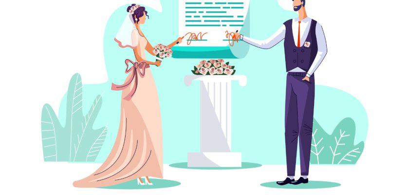 порядок заключения брака несовершеннолетними
